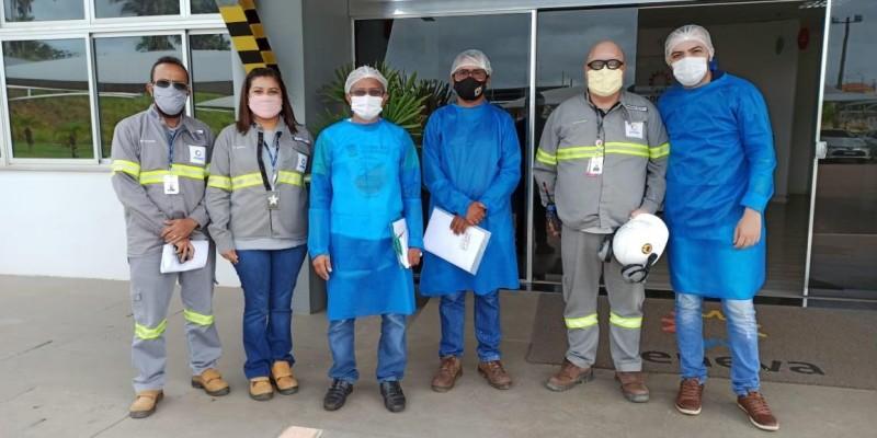 Prefeitura, ENEVA e TECHINT fortalecem parceria no combate a Covid 19 em Santo Antônio dos Lopes.