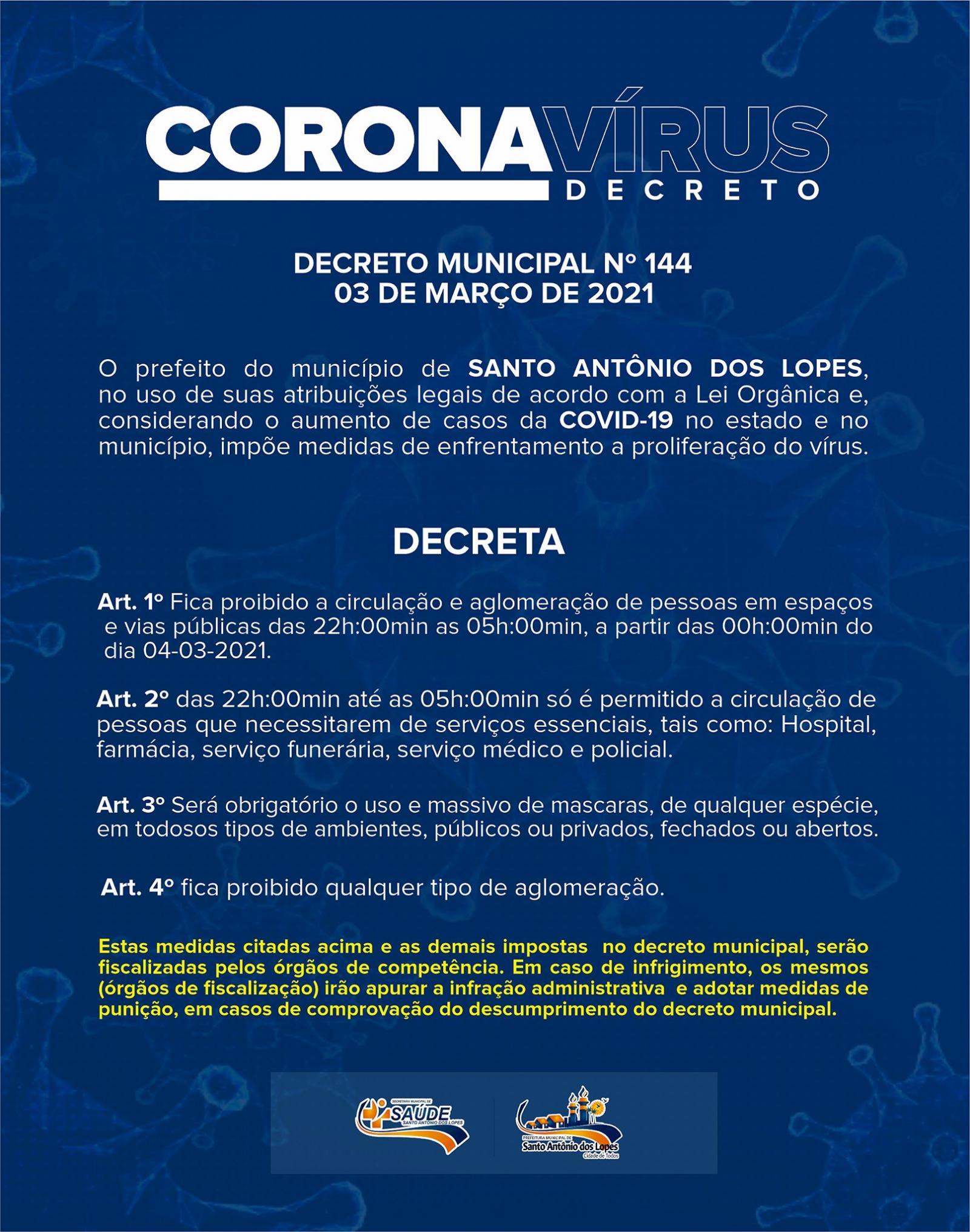 Decreto 144/2021